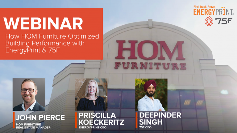 EnergyPrint, 75F and HOM Furniture case study webinar banner