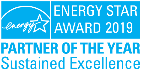 ENERGY STAR Partner of the Year 2019 - Sustained Excellence